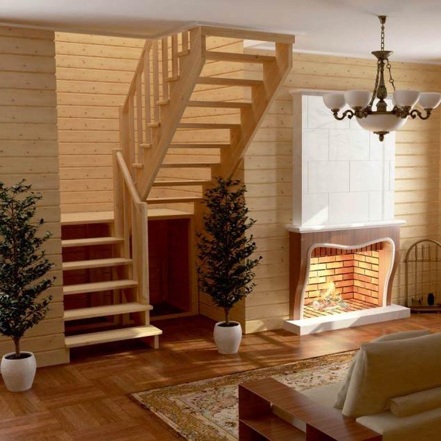 дизайн деревянных лестниц в частном доме фото хочется