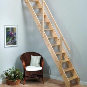 Чердачная деревянная лестница, ДЛС-037