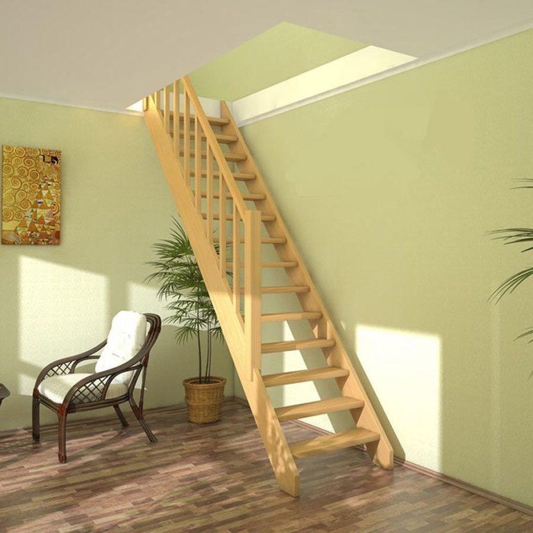 купить лестницу в дом на второй этаж