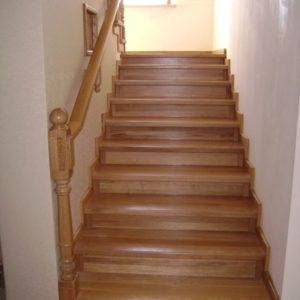 Облицовка ступеней лестницы