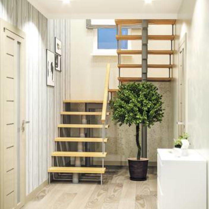 Модульная лестница Комфорт, MOD-180-59