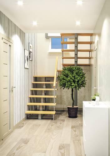 Модульная лестница Комфорт, MOD-180-54