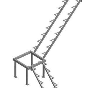Каркас к лестнице ЛЕС-05 универсальной