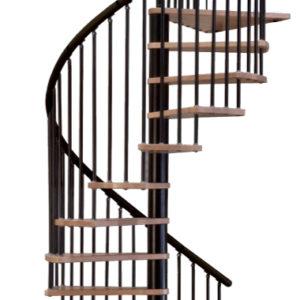 Винтовая лестница MINKA Spiral Decor 120 (кантри), черный