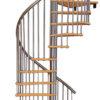 Винтовая лестница MINKA Spiral Effect 120, серебро