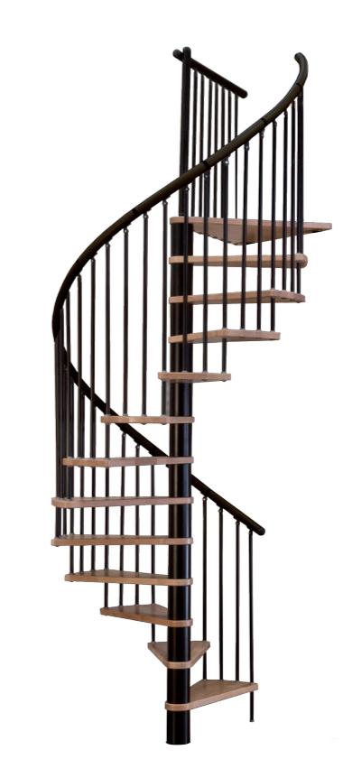 Винтовая лестница MINKA Spiral Effect, черный