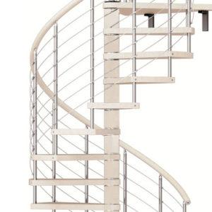 Винтовая лестница MINKA Spiral Effect 120, белый
