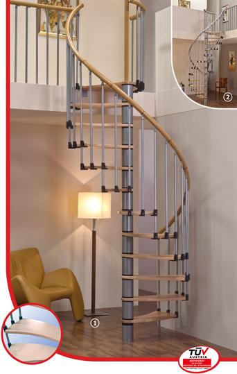 Винтовая лестница MINKA Wave Plus