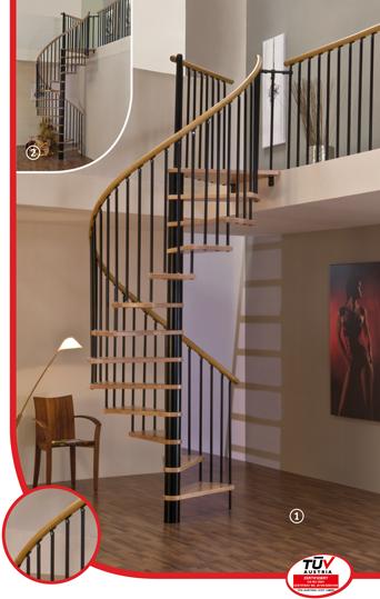 Винтовые лестницы MINKA Spiral Wood